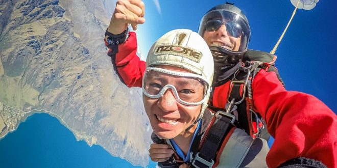 Where To Try Skydiving