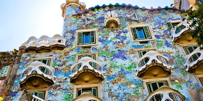 Barcelona is home to some of Europe's most fantastic architecture